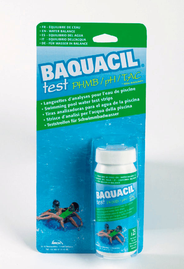 Teststrips Baquacil PHMB 2in1