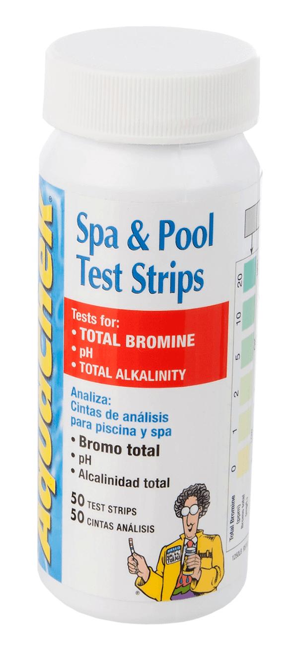 Teststrips Br/pH/TA