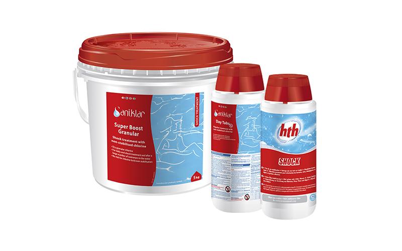 HTH® & Saniklar® ustabiliseret klor