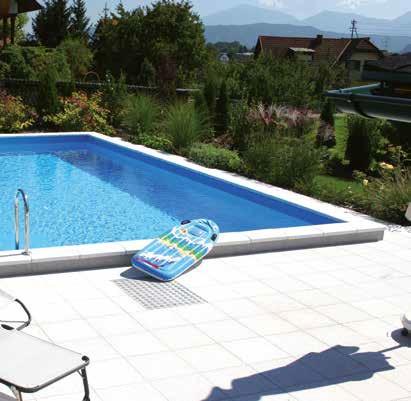 Luksus Styropor Pool m/stige