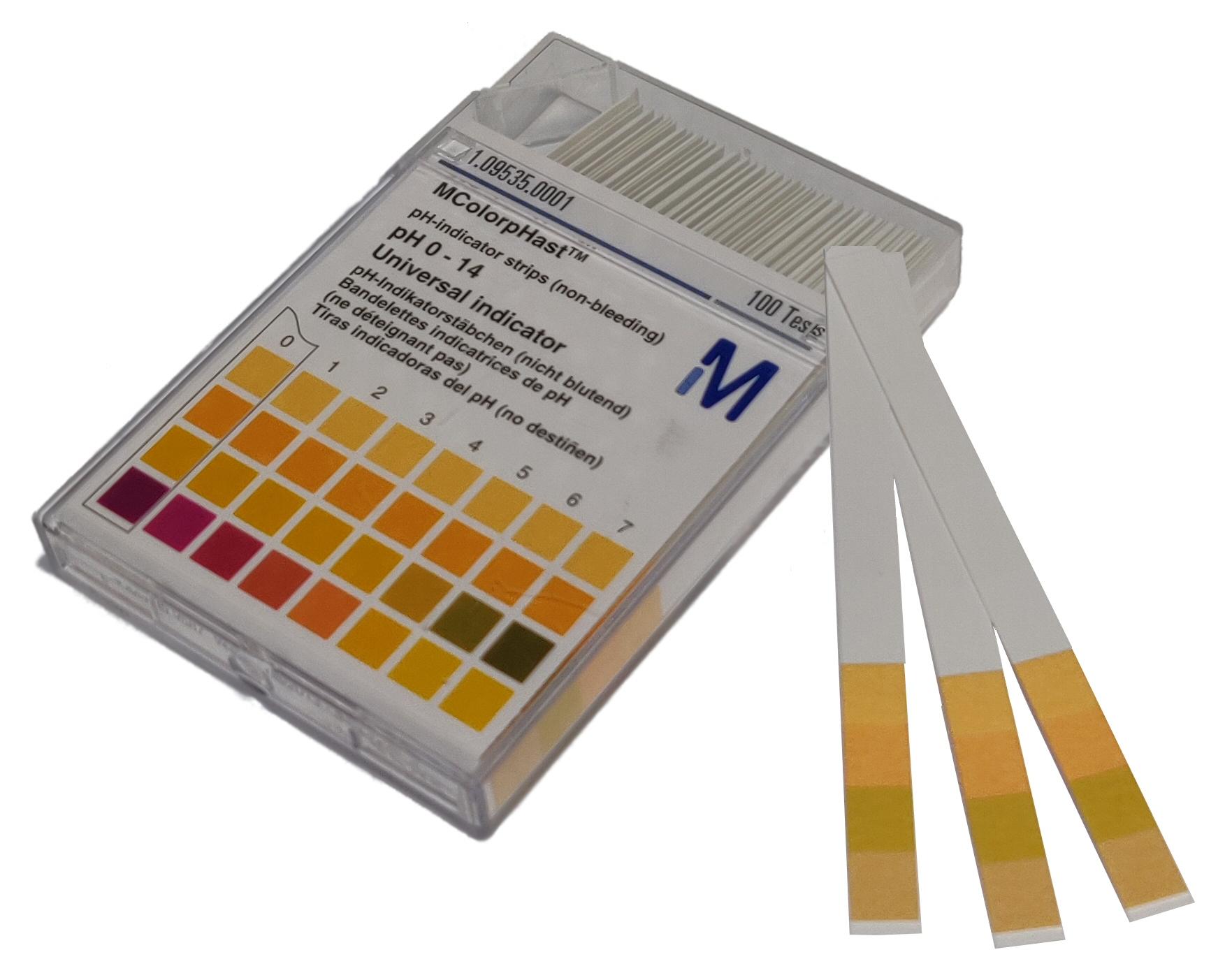 pH Indikatorstrips
