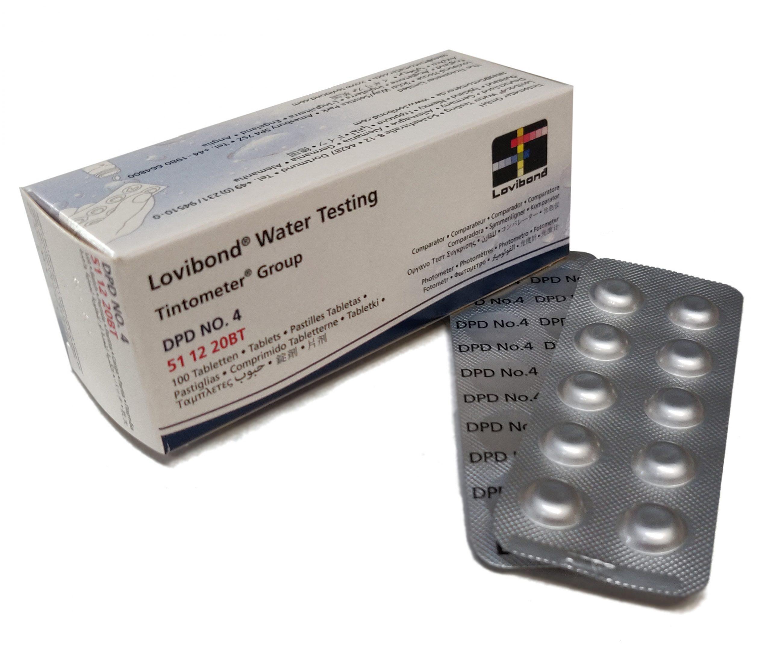 DPD nr. 4 Aktiv Oxygen 0,1-10 mg/l (Photometer)