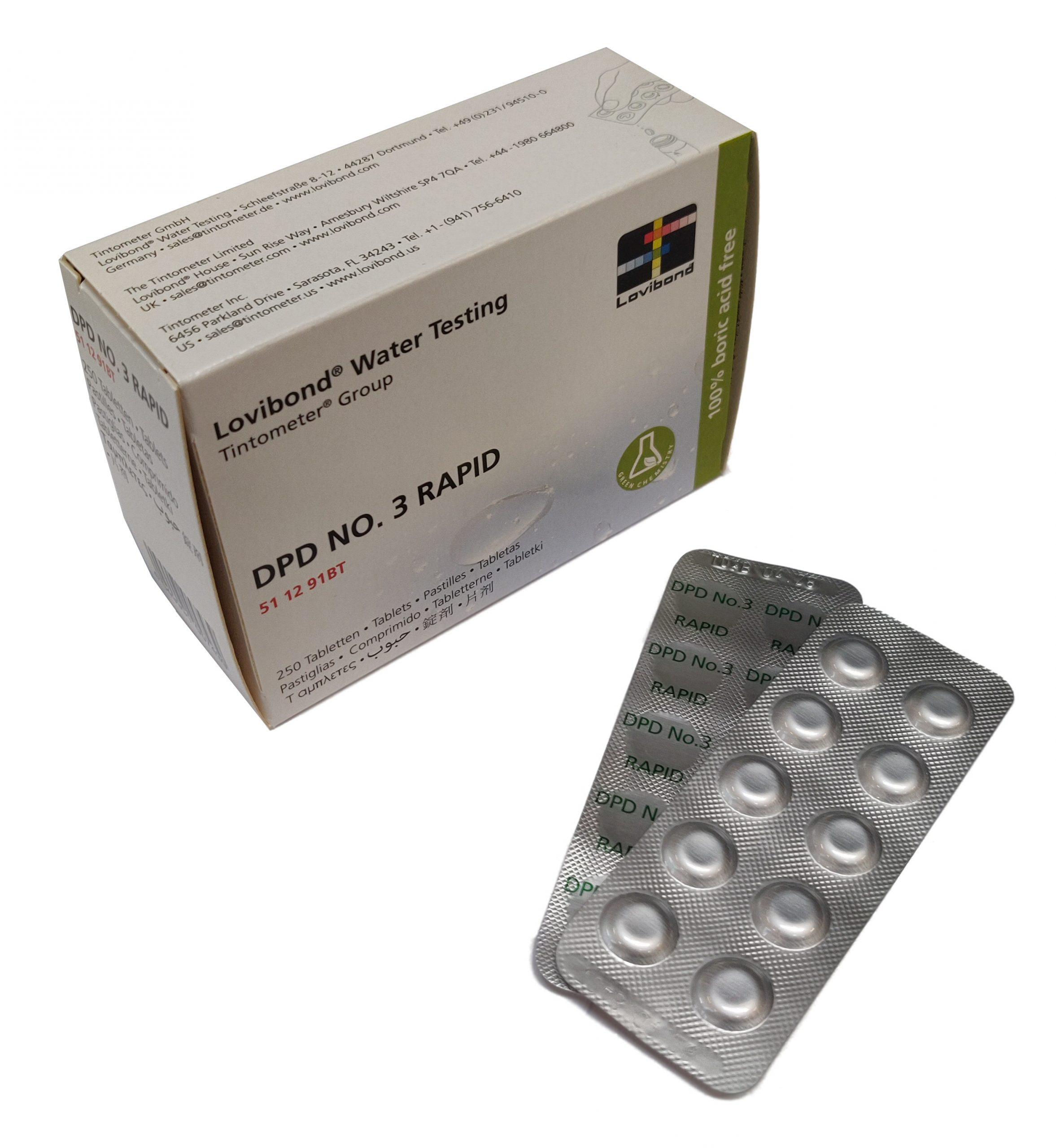 DPD nr. 3 Rapid Total klor (håndryster)