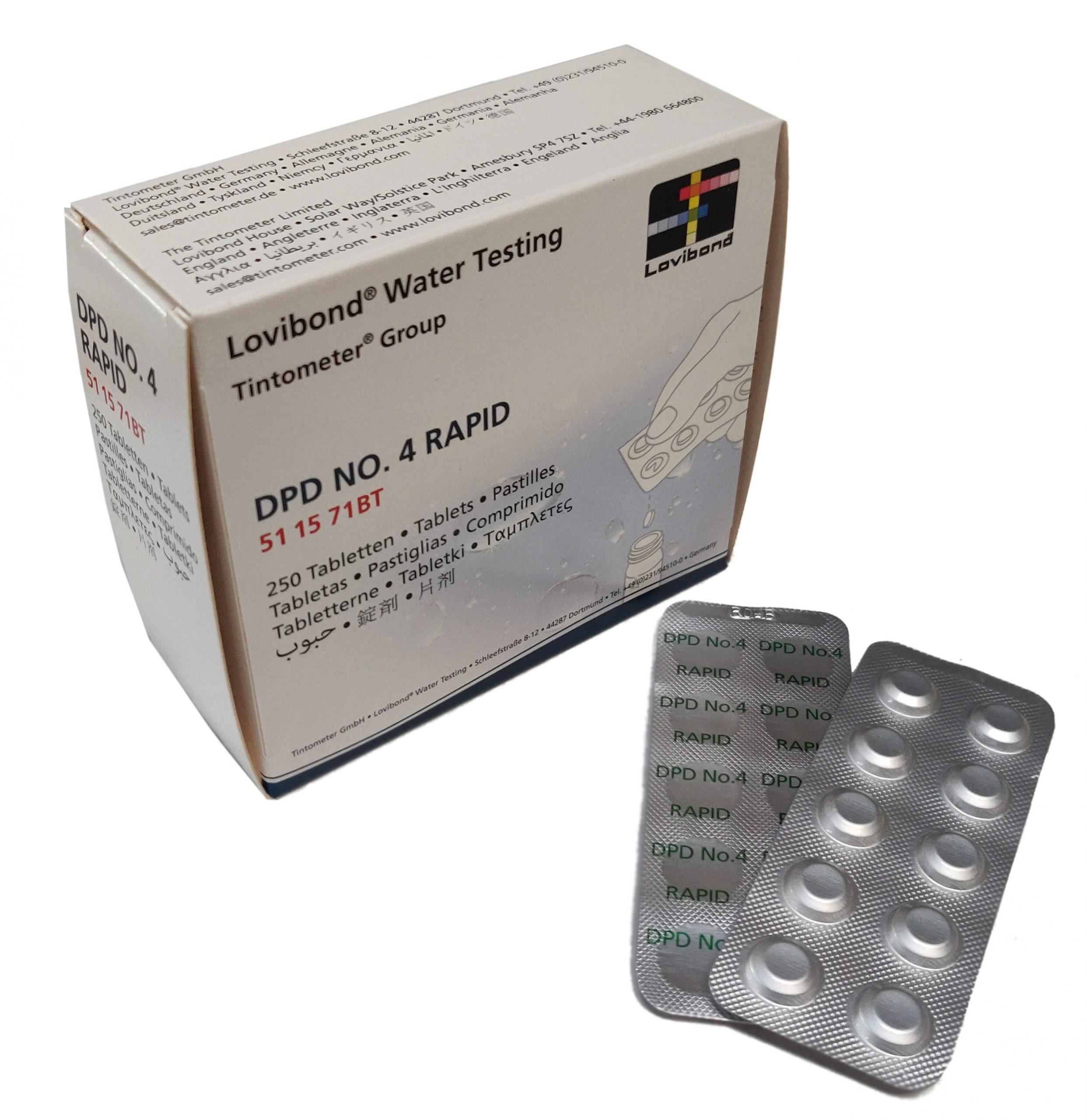 DPD nr. 4 Rapid Aktiv Oxygen (håndryster)