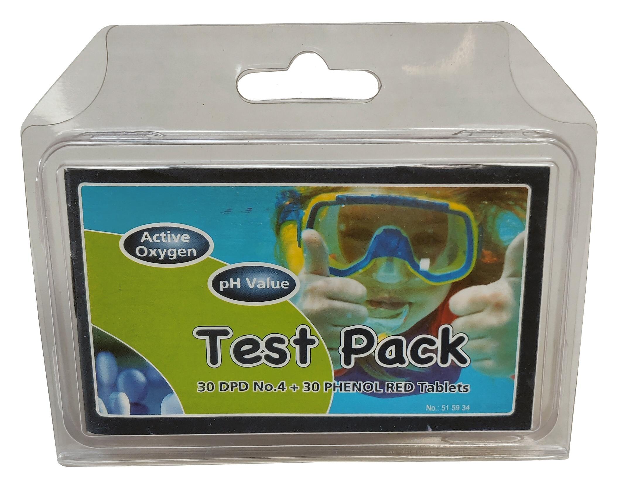 Refill Pack til Tablettester Oxygen (O2)/pH